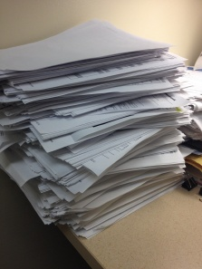 I'm pretty sure we generate as much or more paper documents on EHR as we did in the paper charts days.